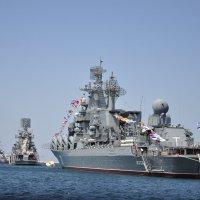парад кораблей в Севастополе :: Наталья Сорокина