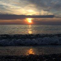 Закат на Обском водохранилище :: fotovichka репортажный фотохудожник