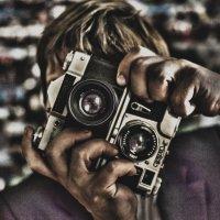 Автопортрет (стерео) :: Андрей Степуленко