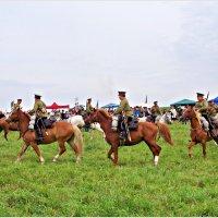 Участники реконструкции Гумбинненского сражения. :: Валерия Комова