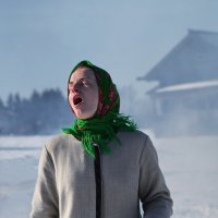 Наглоталась дыма :: Валерий Талашов