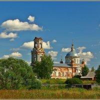 Церковь Преображения Господня в Квашонках :: Дмитрий Анцыферов