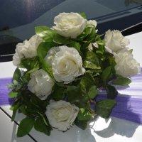 Свадебный букет на авто :: Konstantin Lebedev