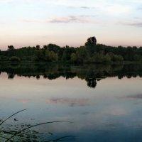Последний летний закат-панорама :: Галина