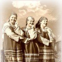 Три девицы под  ........     балдой))))) :: Дмитрий Мухин