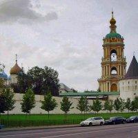 Новоспасский монастырь. :: Oleg4618 Шутченко