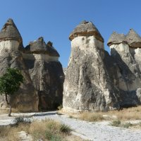 Каменные грибы (столбы) Каппадокии :: Галина
