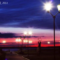 Набережная Петрозаводска вечером :: Tasha