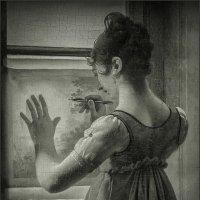 Мартин Дроллинг. Девушка, переводящая рисунок. 1812. Фрагмент :: Наталья Rosenwasser