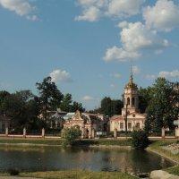 Церковь Воздвижения Креста Господня в Алтуфьеве :: Александр Качалин