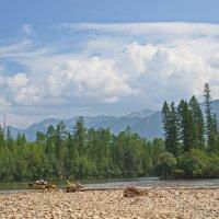 Небо, горы, река :: val-isaew2010 Валерий Исаев