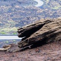 Вулканический пейзаж :: Сергей Баклановский