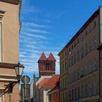 Улица в Торуни :: Сергей Карачин