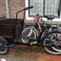Утрехт. Велосипедные багажники бывают разные... :: Елена Павлова (Смолова)