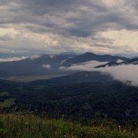 Облака над Даховской поляной :: Владимир Лебедев