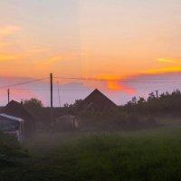 Вечер в деревне :: Владимир Демчишин