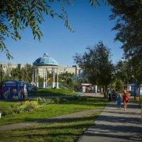 Беседка в парке :: юрий Амосов