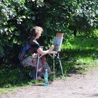 творчество в парке :: Августа