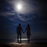 По лунной дорожке :: Даша Вершинина