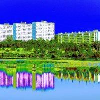 Снятся людям иногда голубые города... :: muh5257