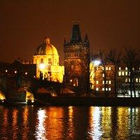 Карлов мост ночью :: Никита Иванов