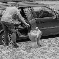 девочки, девочки, перестаньте болтать, ехать пора! :: Олег Баслаков