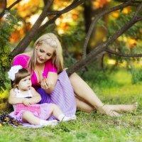 мама и дочка :: Света Солнцева