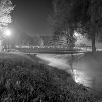 Вечерний туман :: Sergey Kuznetsov