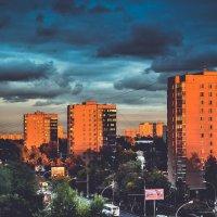 Городской пейзаж :: Ксения Базарова