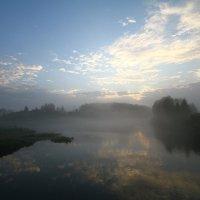 туманный рассвет :: евгений Смоленцев