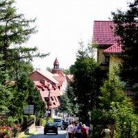 Городок Свиерадоц -Здрой :: Аркадий Басович