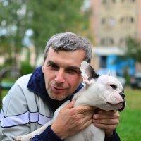 с собакой, после обработки :: Наталья Савич
