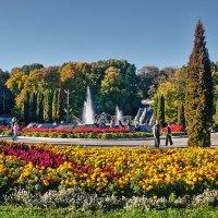 Сентябрь в Белоусовском парке. :: Горбушина Нина