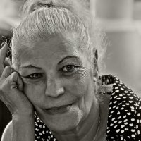 Сигарета сигарета, я люблю тебя за это!..- «из серии золотой возраст-бабушки бабульки... :: Shmual Hava Retro