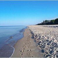 Пустынный пляж. :: Валерия Комова
