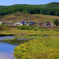 Село Воскресенск у реки Тор :: Любовь Потеряхина
