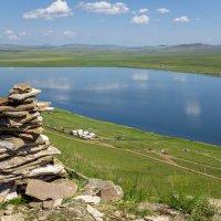 озеро Тус в Хакасии :: Евгений Банных