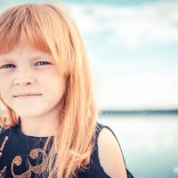 Фотосессия для девочки на природе :: Юлия Нагибович