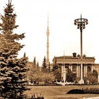Москва- в районе ВДНХ :: yuri Zaitsev