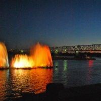 Вечерний фонтан :: Маргарита Кретова