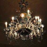 люстра из сжатого стекла,,замок Добриш(Чехия) :: Ирина ***