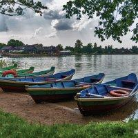 Лодки :: Юлия Нагибович