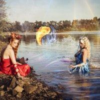 Огонь и вода. Сосуществование... :: Мария Дергунова