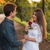 Love story Марины и Кирилла :: Николай Кислицын