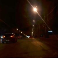 По ночному небу, по ночным проспектам, убегает счастье, убегает лето :: Виктория Большагина