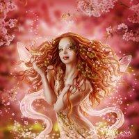 Фея цветения :: Vladlena Bolgova