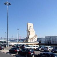 Памятник Первооткрывателям. Лиссабон. Португалия :: Надежда Гусева