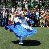 Танец татарской девушки :: Анастасия Богатова