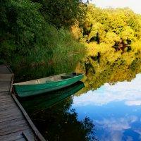 Забытая временем лодка... :: Елена