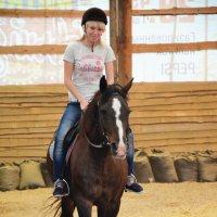 Конные прогулки :: Оксана Пищайкина